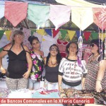 Socias en X Feria Canaria de Uruguay